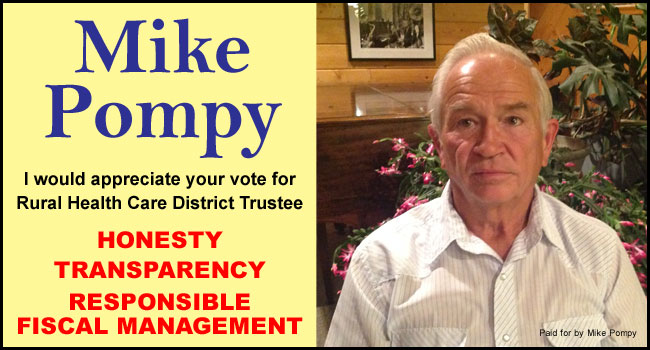 Vote for Mike Pompy