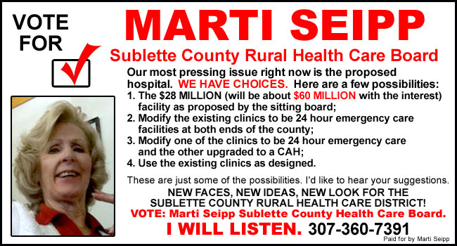 Vote for Marti Seipp