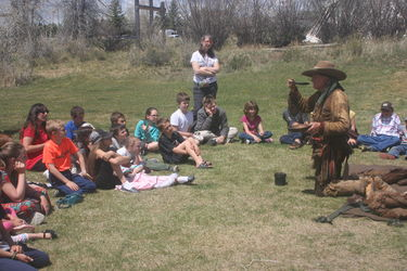 Living History Days. Photo courtesy Museum of the Mountain Man.