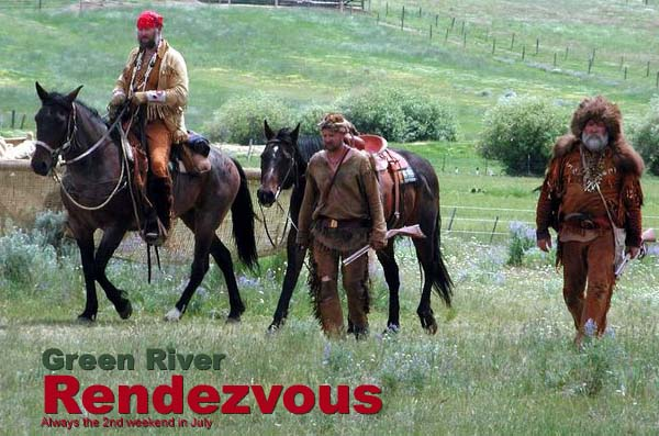 Mountain Men at the Green River Rendezvous