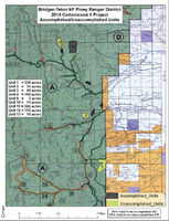 Smoke may be visible in the Cottonwood Creek area of the Wyoming Range on Wednesday, May 4th due to a prescribed burn.